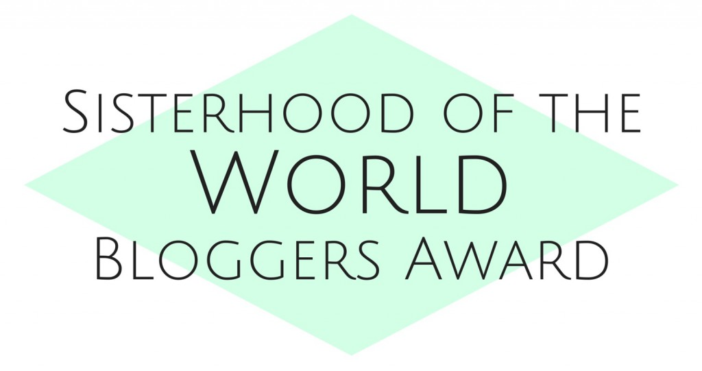 Sisterhood of the World BloggersAward