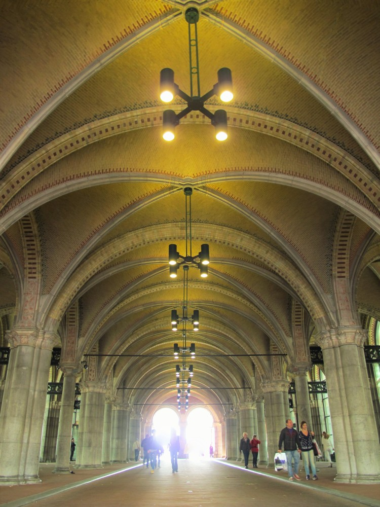 The tunnel underneath the Rijksmuseum in Amsterdam