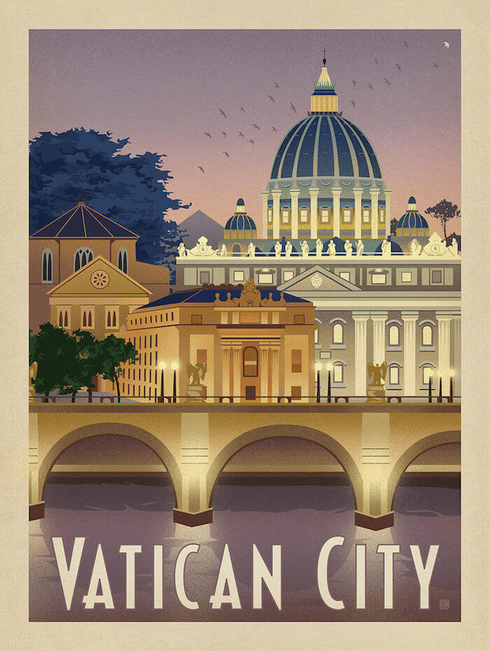 50 Vintage Travel Posters To Feed Your Wanderlust